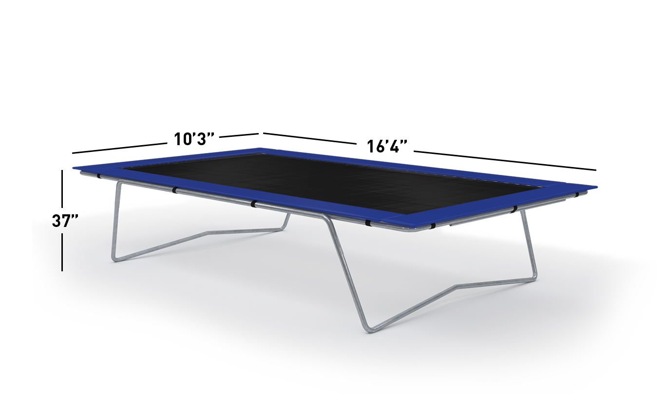10×17 Olympic Trampoline Dimensions