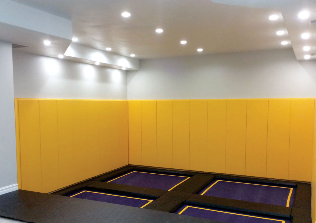 Indoor Trampoline Rooms